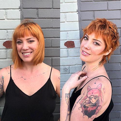 Cute Short Hair Designs