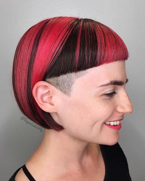 Cute Hair Designs For Short Hair