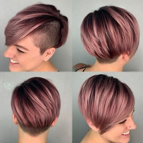 Short Hairstyle Ideas For Thick Hair