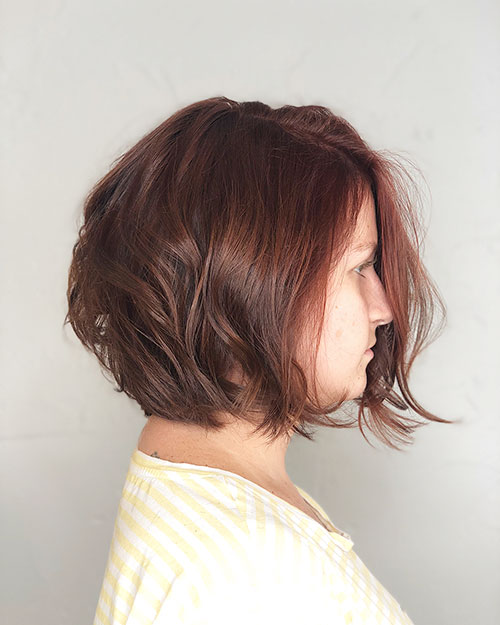 Images Of Short Hairstyles For Thick Hair