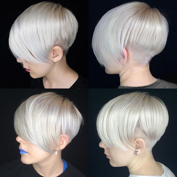 Pixie Haircuts With Long Bangs