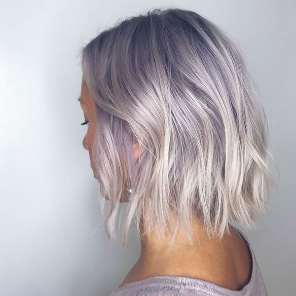 Ash Blonde Hair Color For Short Hair