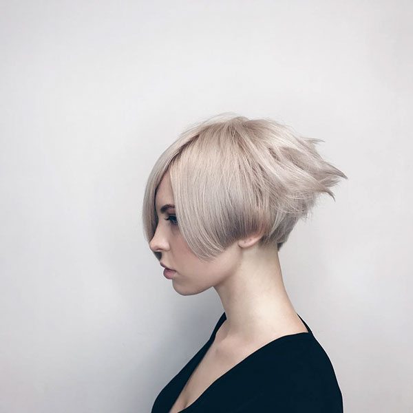 Ash Blonde Hair Color Ideas For Short Hair