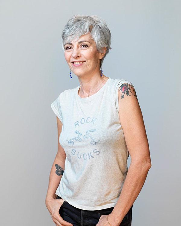 Pixie Cut Grey Hair