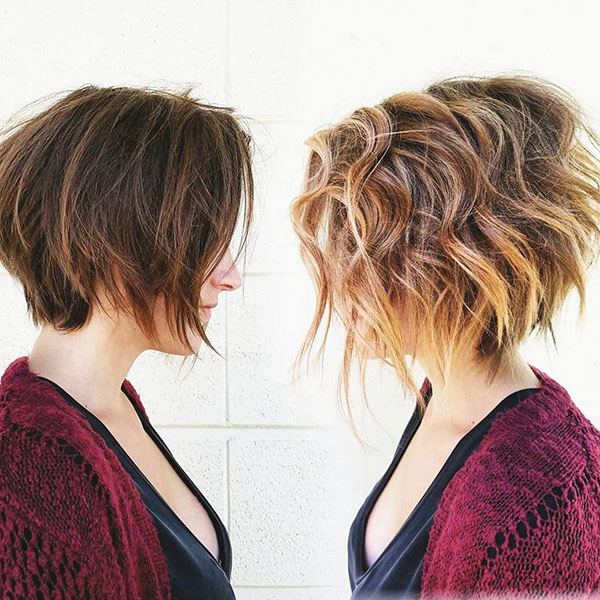 Choppy Short Hairstyles