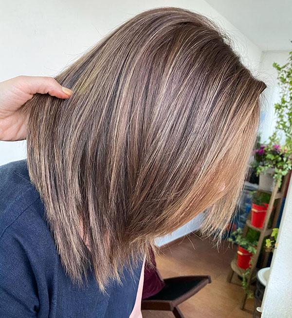 Trendy Short Haircuts For Mature Women