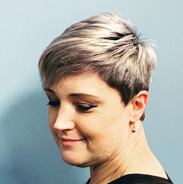 Mature Short Haircuts