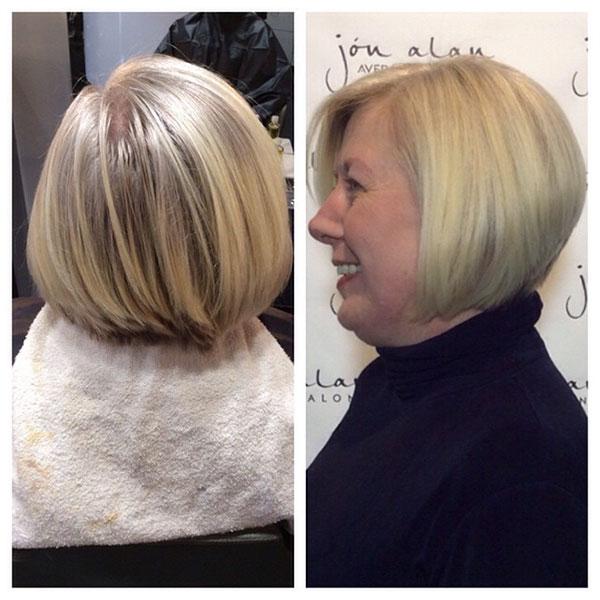 Short Haircuts For Mature Women