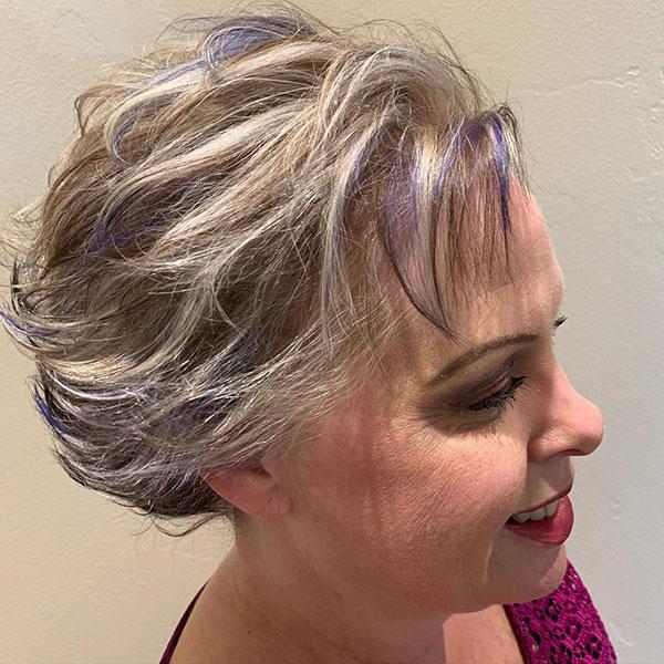 Short Hair Designs For Mature Women