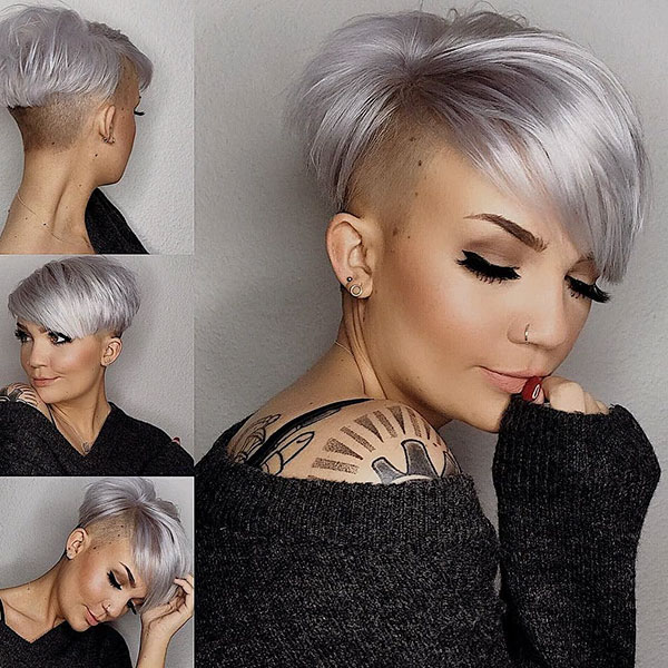 Ash Blonde And Short Hair Archives The Best Short Hairstyles And Hair Cuts