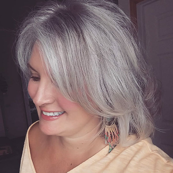Images Of Short Platinum Hair