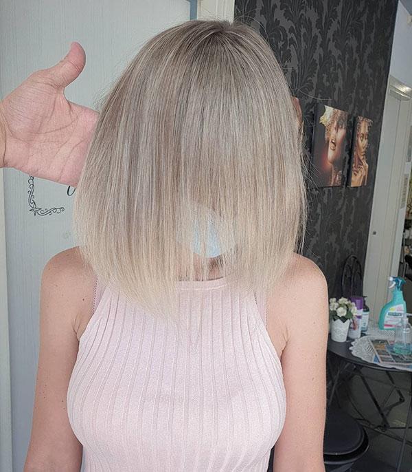 Light Blonde Short Hair 2020