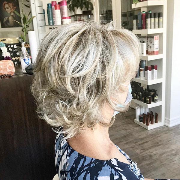 Light Blonde Short Haircuts