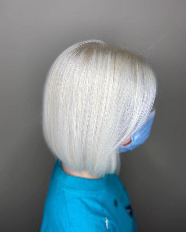 Short Light Blonde Hair Ideas