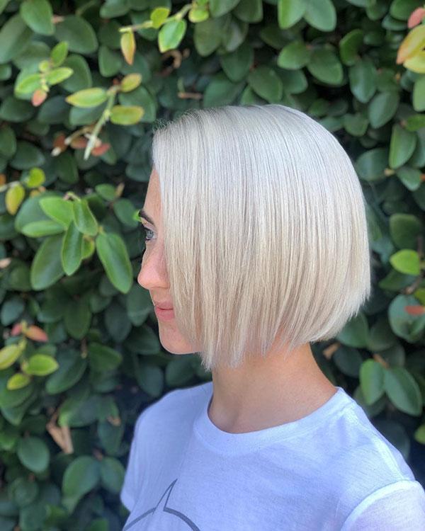 Super Short Light Blonde Hair