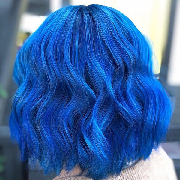 Short Blue Hair Color Ideas