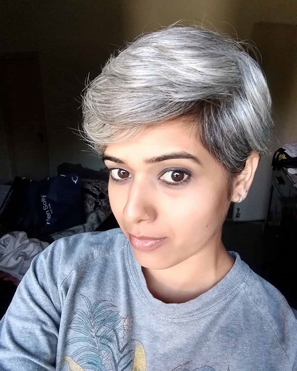 Platinum Hair Color Ideas For Short Hair
