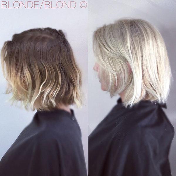 Short Light Blonde Styles