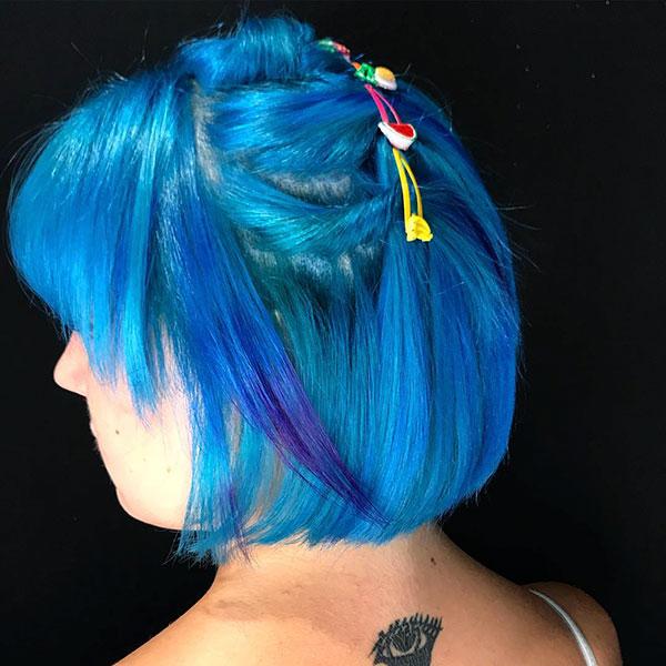 Blue Short Cuts