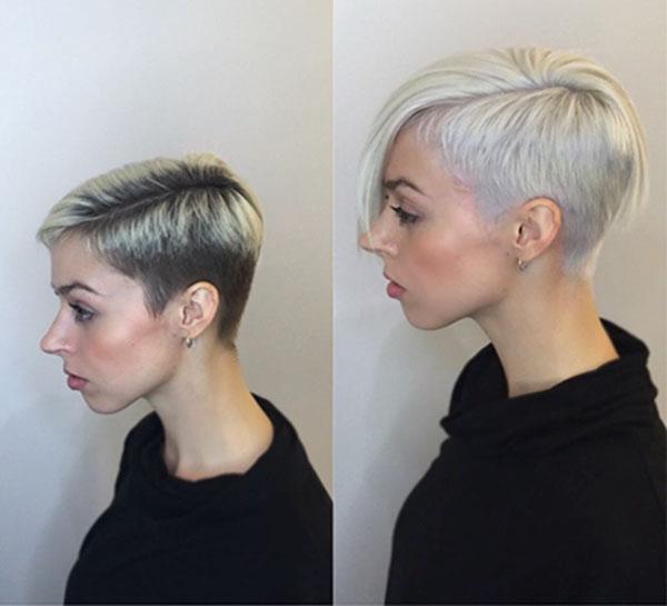 Short Light Blonde Hair