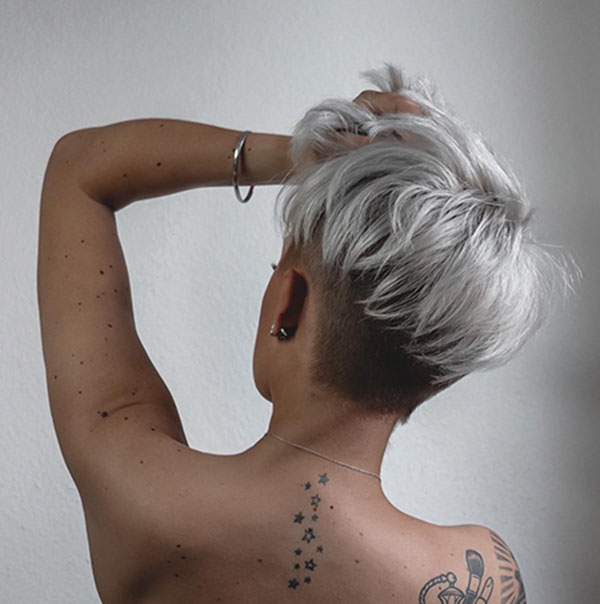 Platinum Short Hairstyles