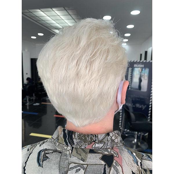 Short Light Blonde