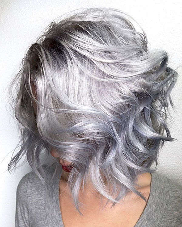 Platinum Hair For Short Hair