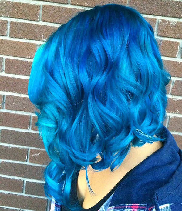 Images Of Short Blue Hair