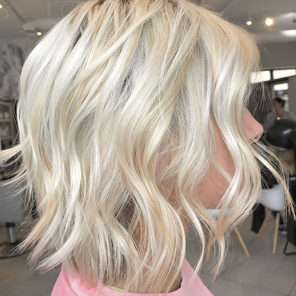 Light Blonde Hair For Short Hair