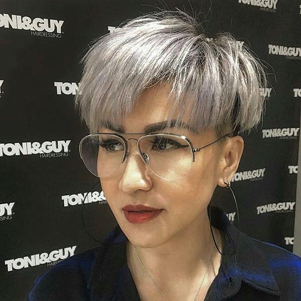 Silver Hair For Short Hair