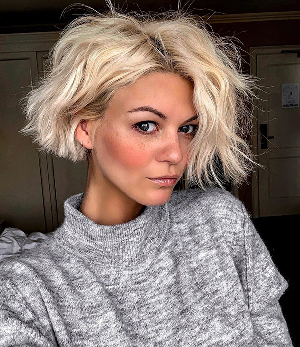 Messy Hairstyles For Short Hair