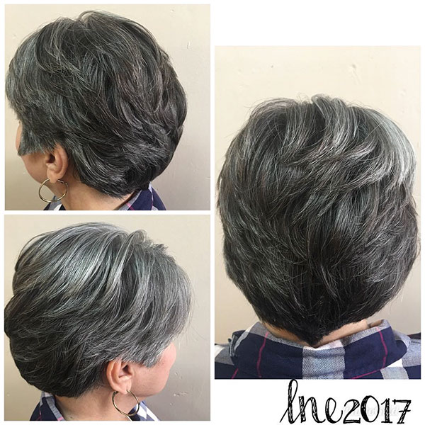 Easy Short Haircuts For Mature Women