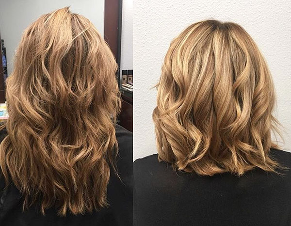 Pictures Of Short Wavy Hairstyles