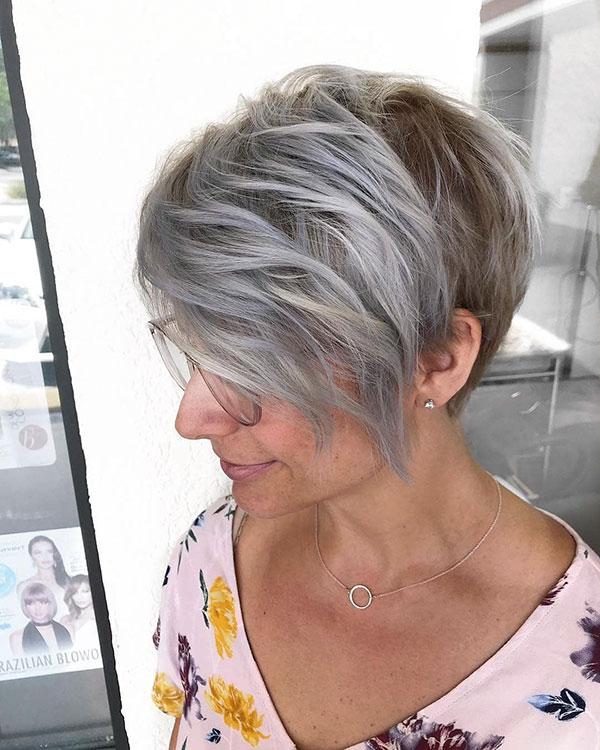 Short Hair For Mature Women