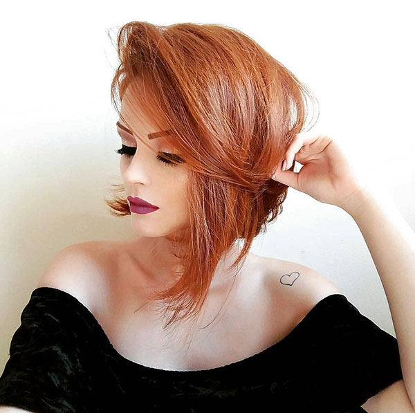 Short Messy Hairstyles For Girls