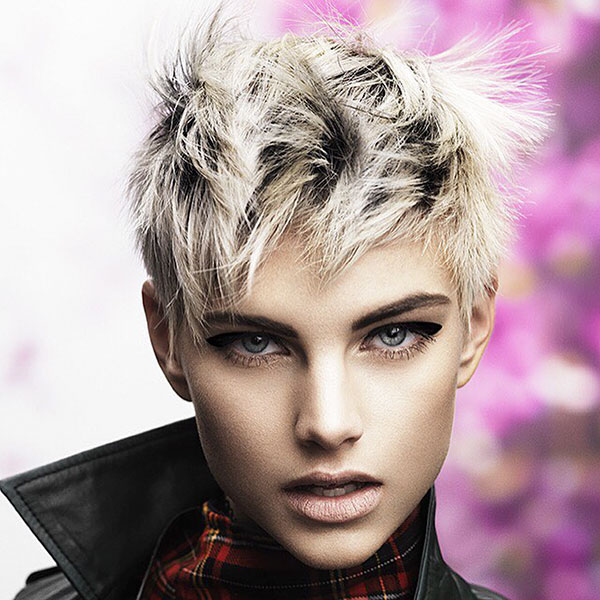 Images Of Short Messy Hairstyles