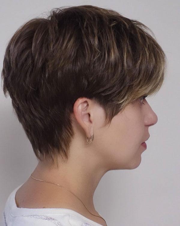 Short Brown Hair Color