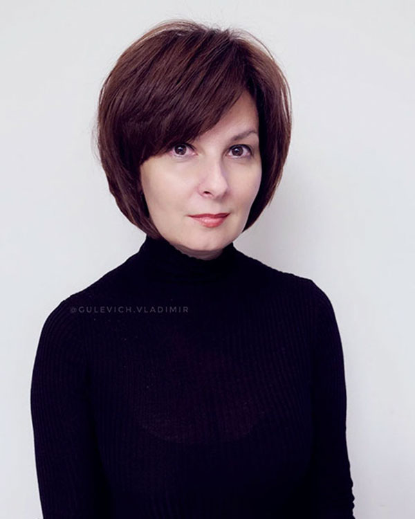 Short Hair For Mature Women