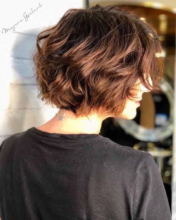 Short Haircuts For Brown Hair