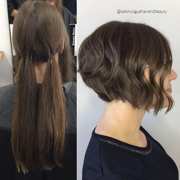 Short Hair And Brown Hair