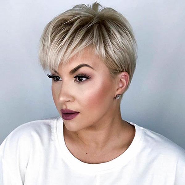 female pixie haircut