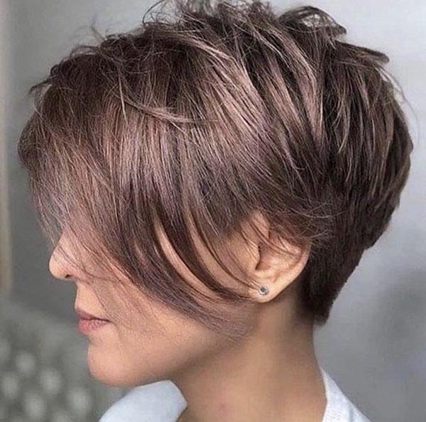 images of a pixie cut