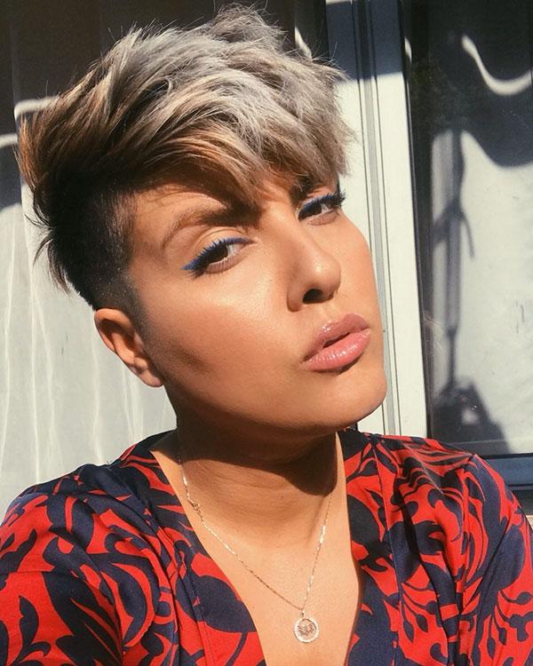 short short hair for women