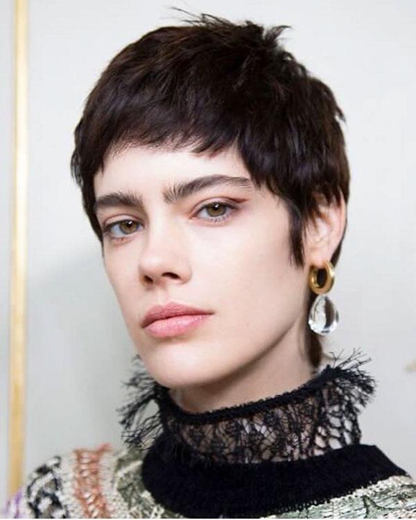 shorter hair cuts 2021